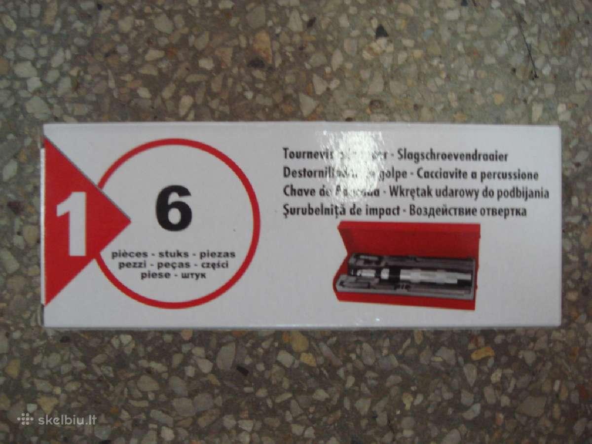 Smūginis atsuktuvas /Smūginių atsuktuvu rinkiniai