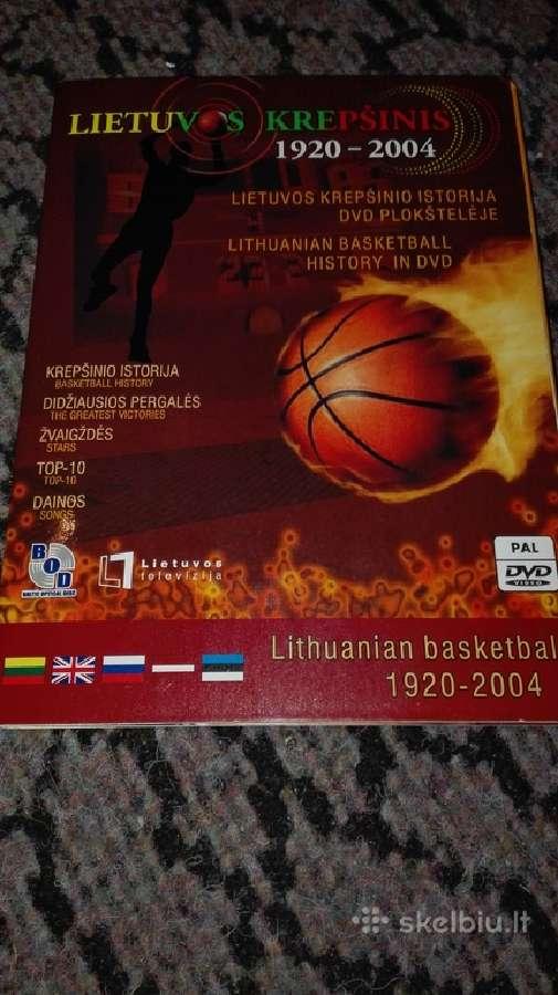 Dvd Lietuvos krepsinis 1920-2004