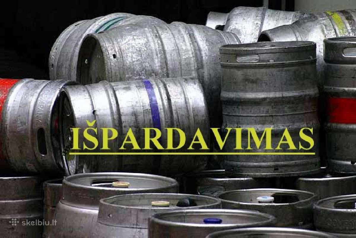 Nerūdijančio plieno alaus Keg statinė 15,20,30 ltr
