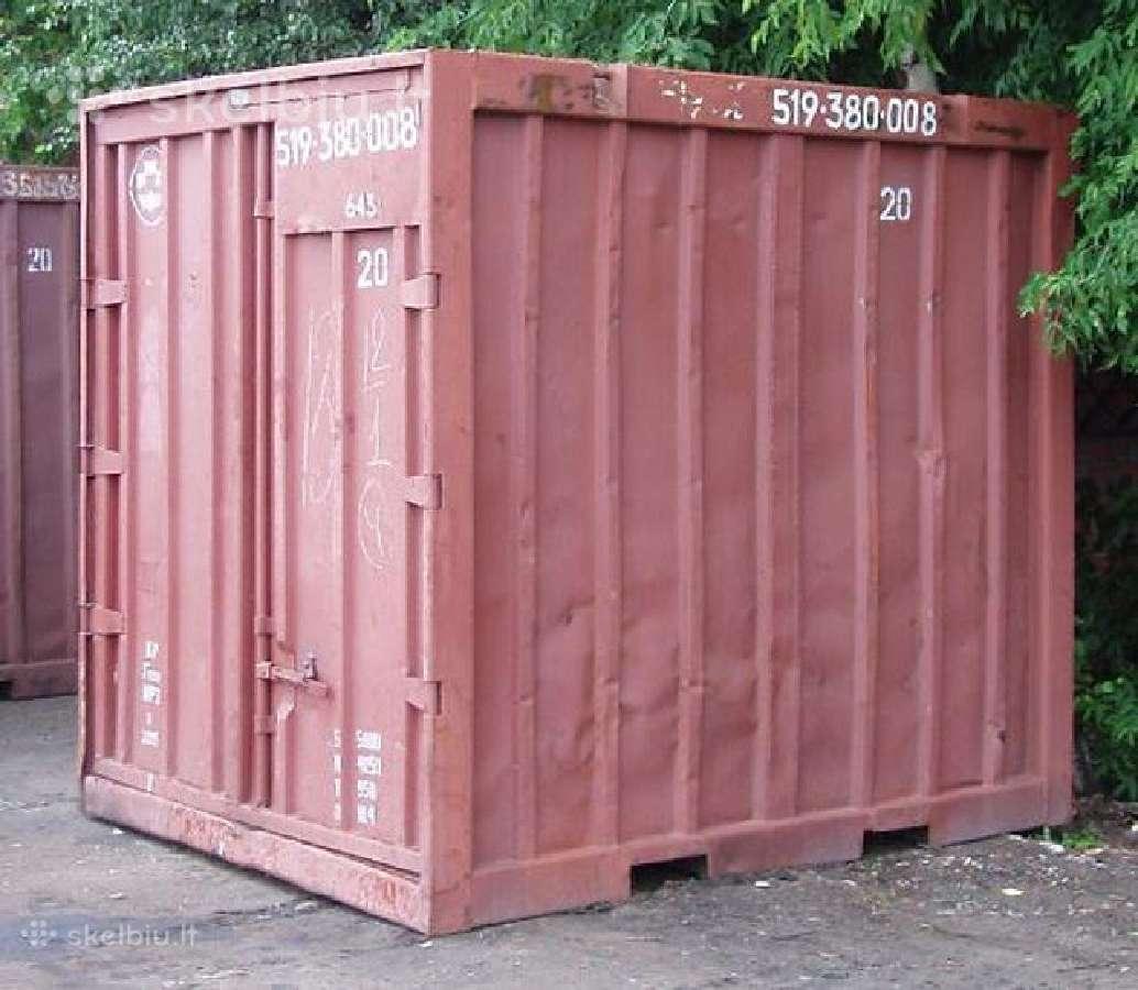 Isnuomoju konteineri