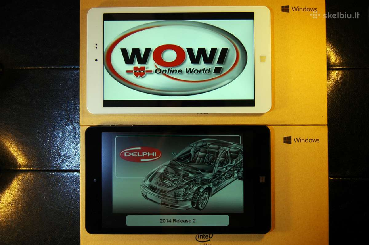 Autocom wurth wow launch x431 tablet delphi 2018m