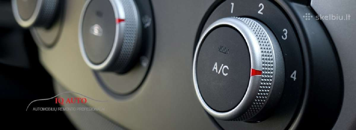 Kondicionieriu pildymas - Iq Auto autoservisas