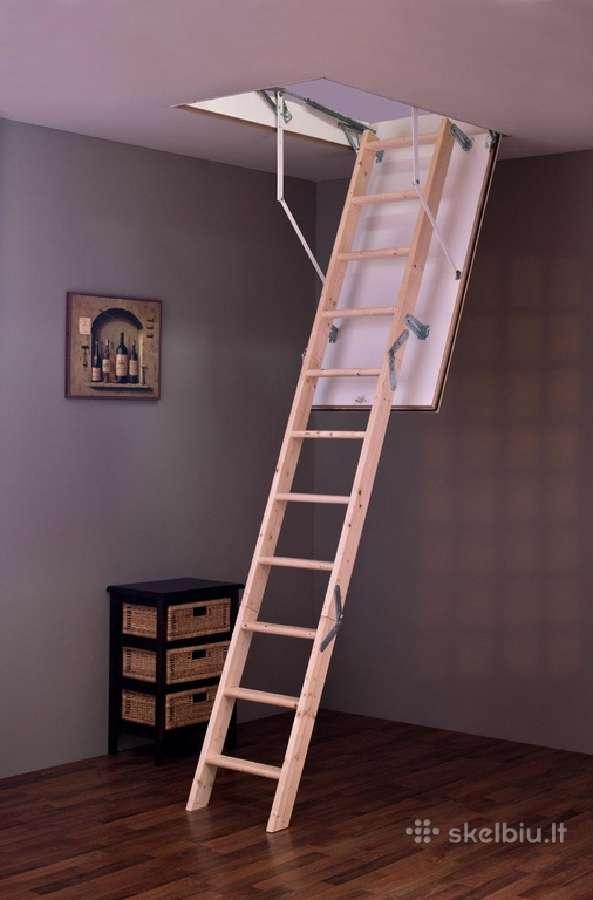 Palėpės laiptai Tradition 60x120 (turime vietoje)