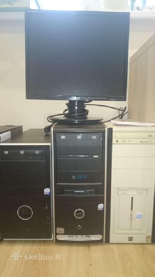 Nuo 15eur stacionarūs Dell Optiplex330, monitoriai