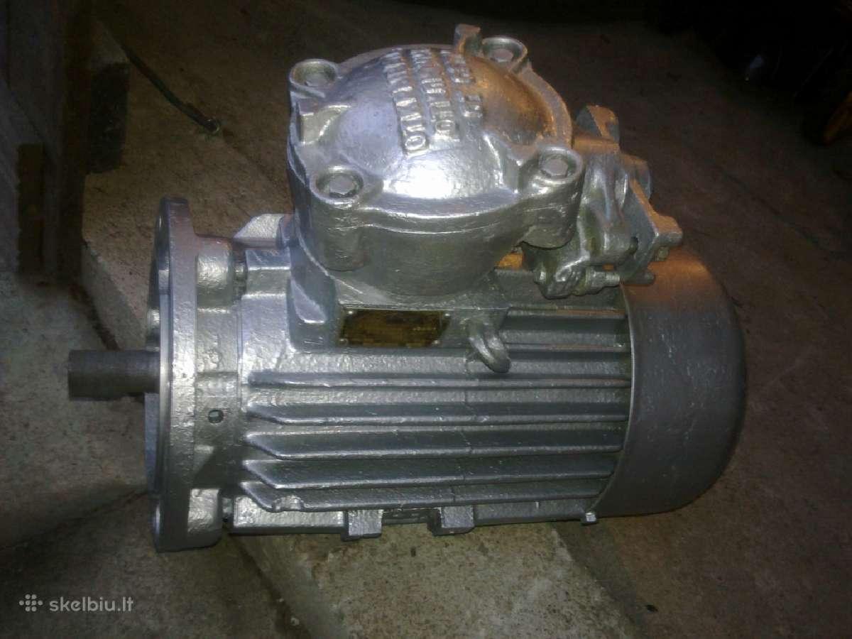 Distiliatorius, elektros variklis, gerve