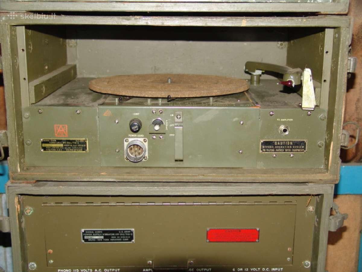Kariskas audio komplektas