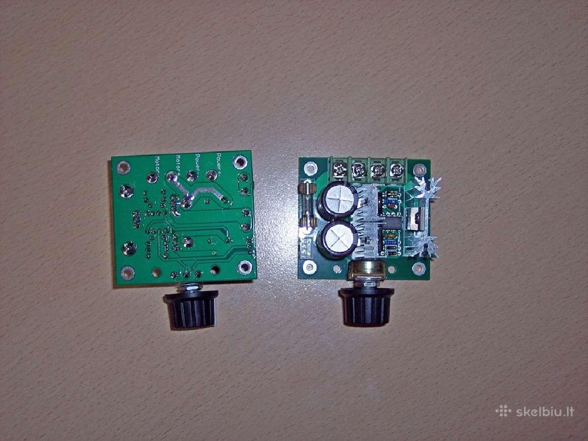 Elektronikos dalių ir komponentu išpardavimas