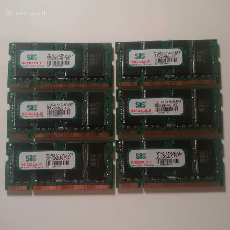 Ddr2 512mb 667 sodimm so-dimm