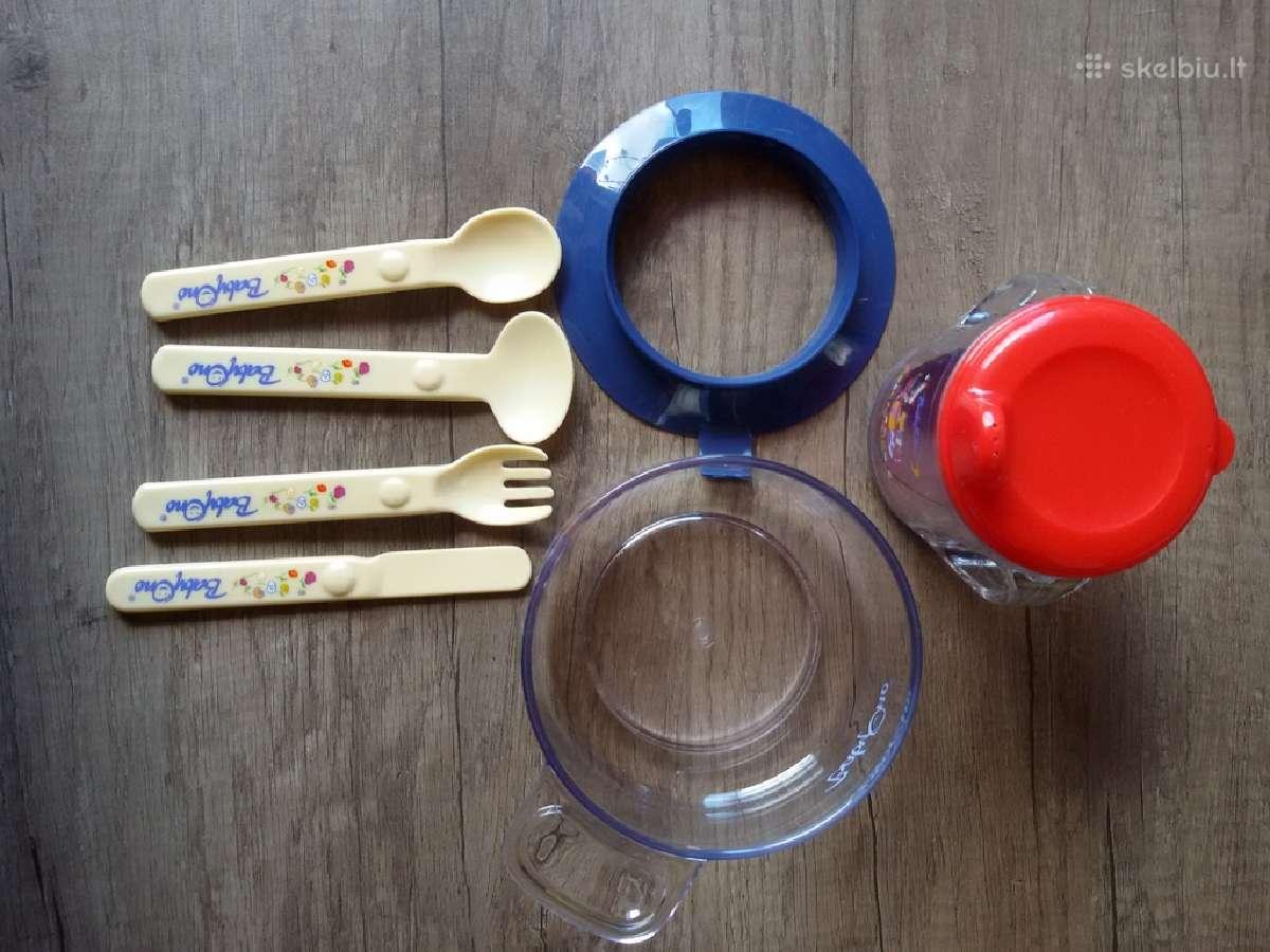 Plastikinis indų rinkinys