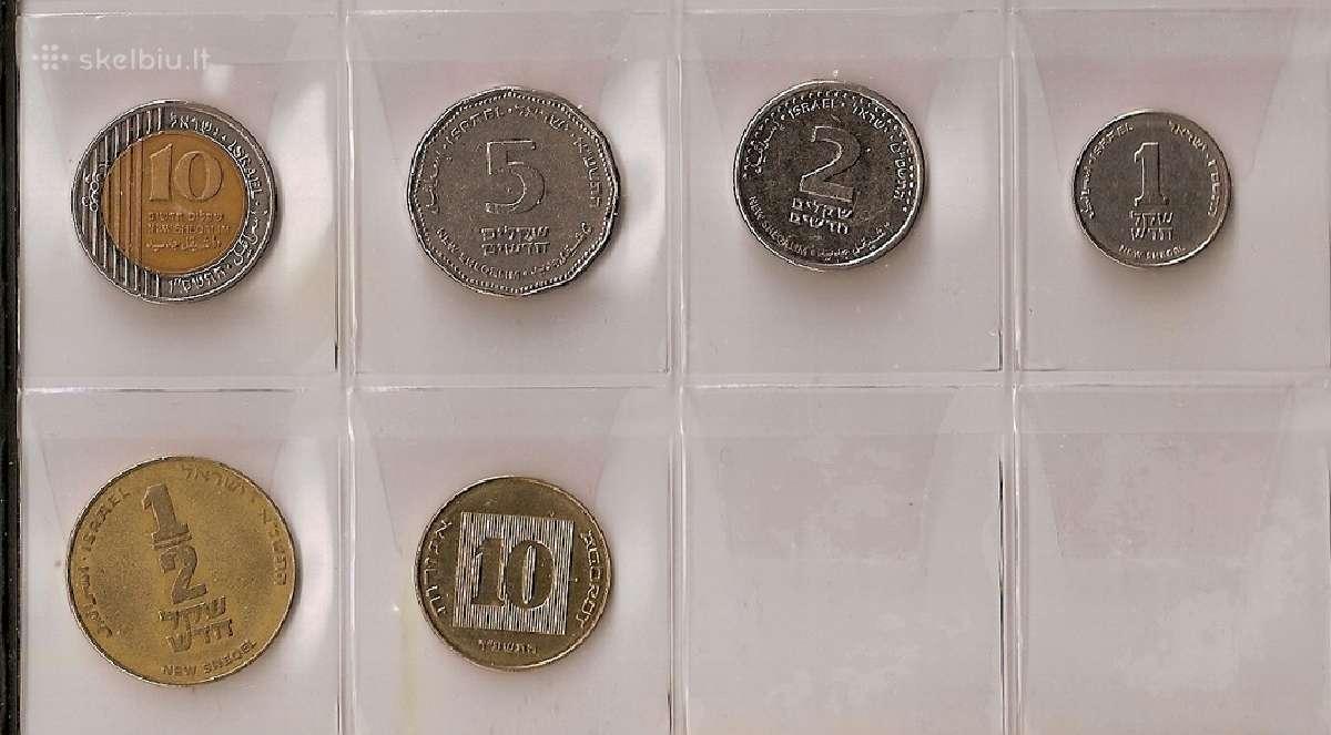 Izraelio 6 monetų rinkinukas