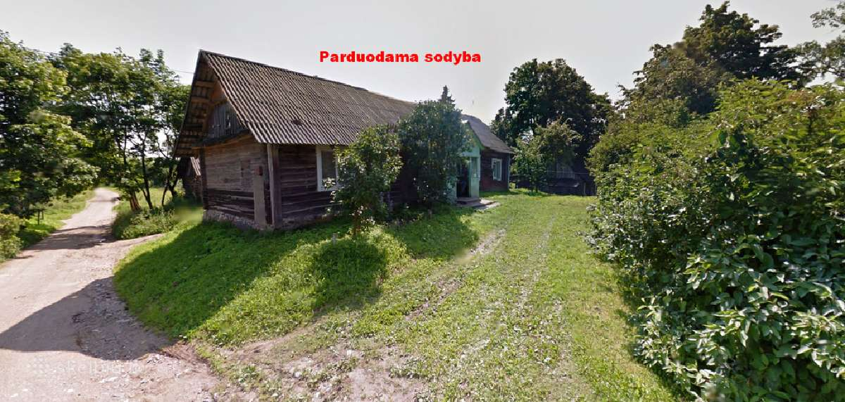 Parduodamas sklypas/sodyba Ignalinos raj.!