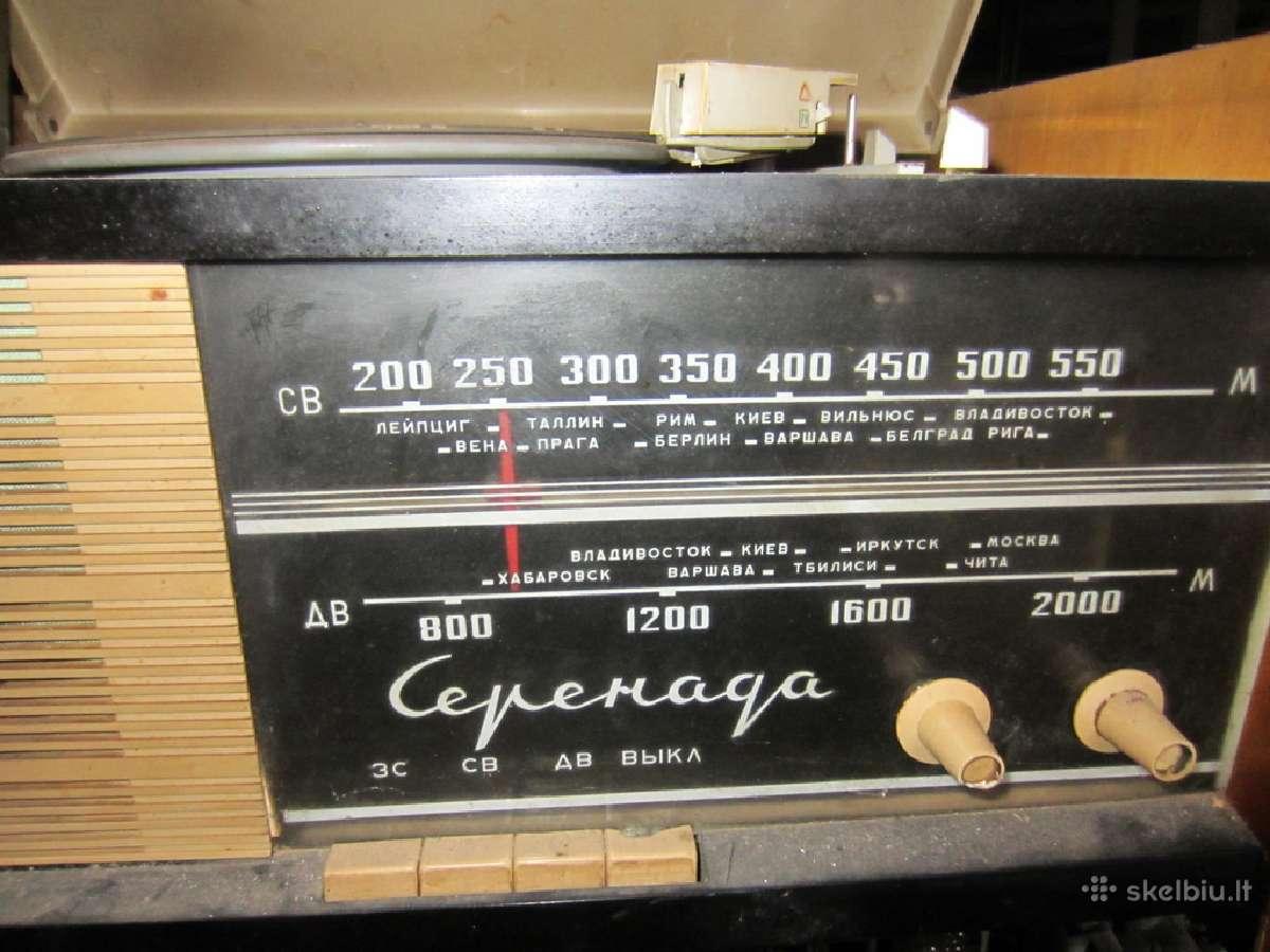 Koloneles,radijas,magnetofonas,bugnelis