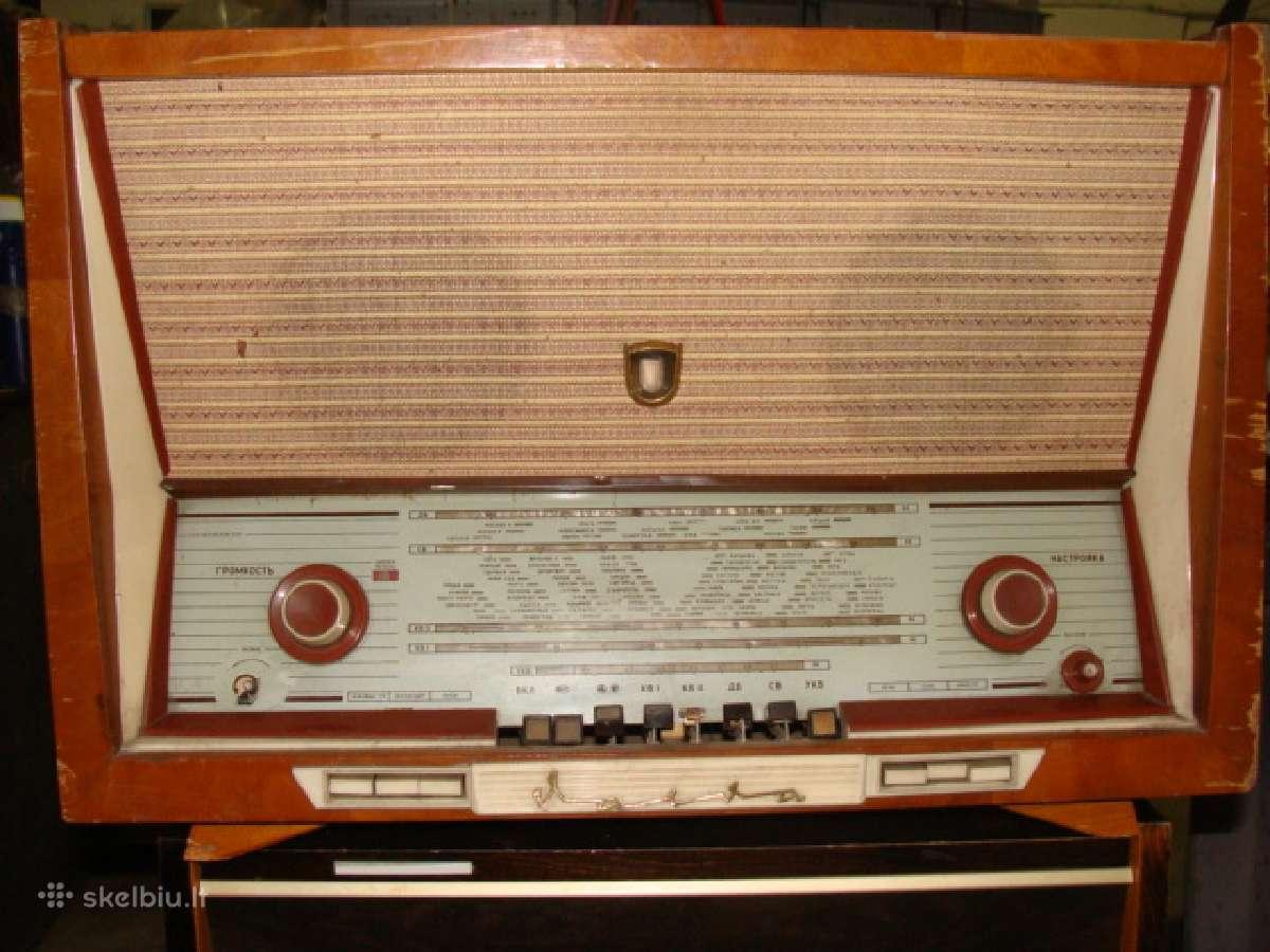 Antikvarines radijas, garso kolonėles, telefonus