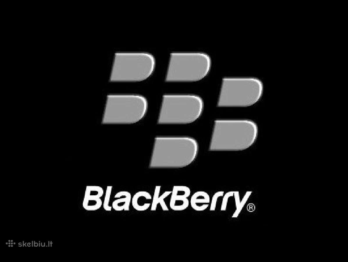Naujas ir naudotas Blackberry