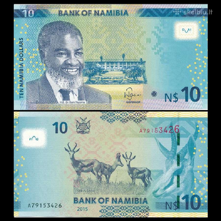 Namibija 10 Dollars 2015m. Unc