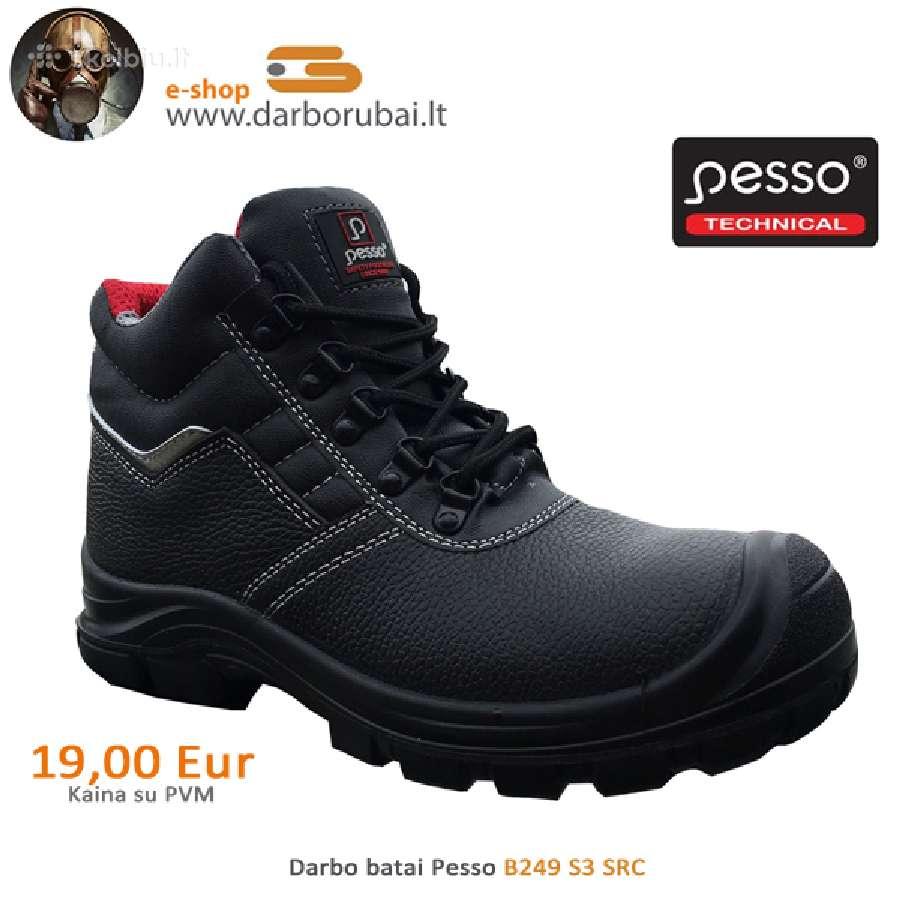 Darbo batai Pesso B249 S3 Src / Gevanta