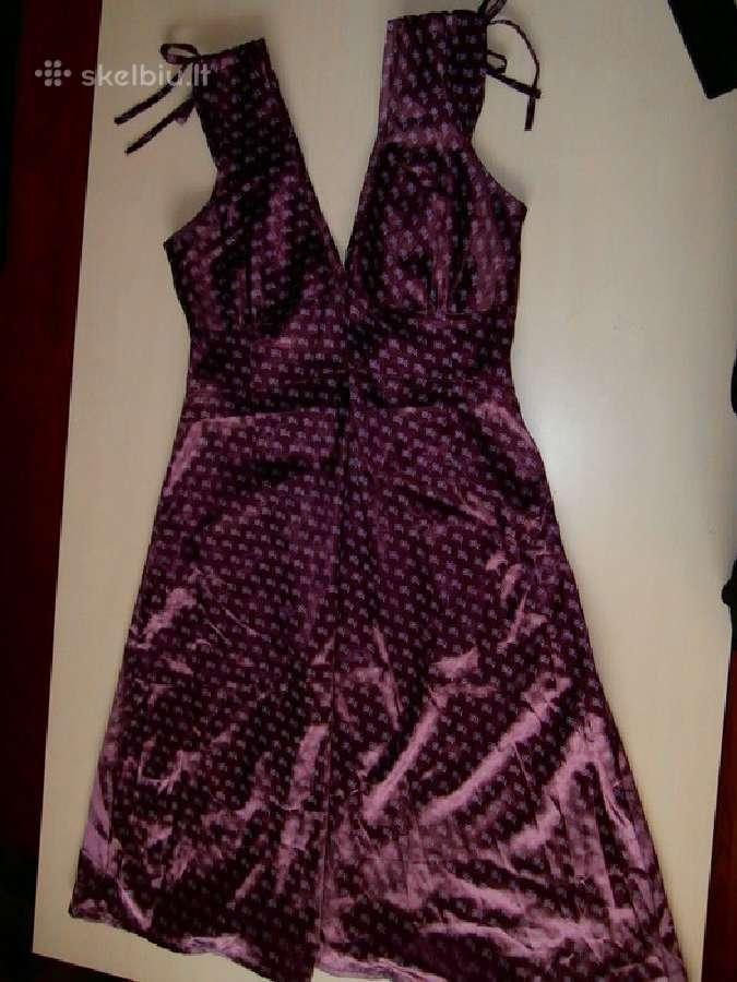 Violetine suknele pigiai