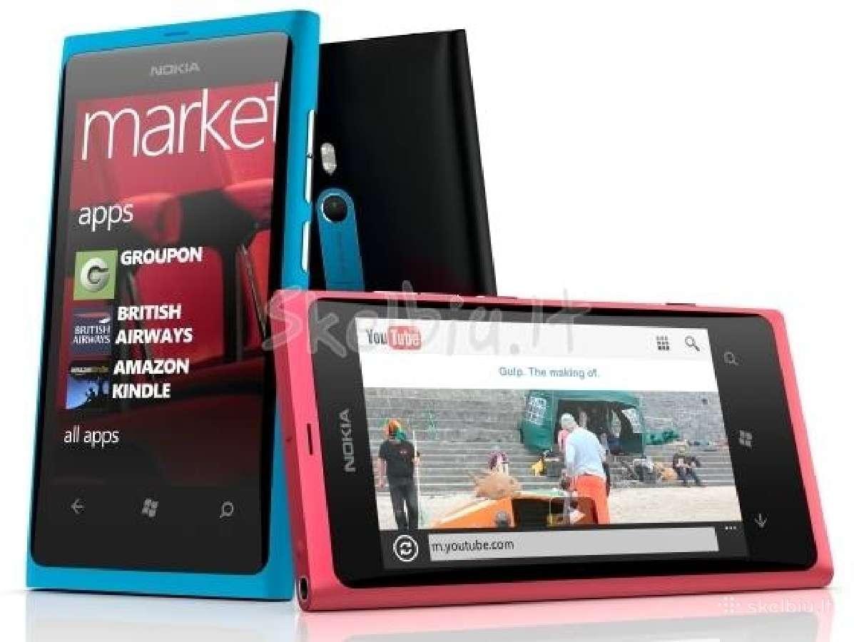 Nokia lumia 800, ir daug kitu modeliu