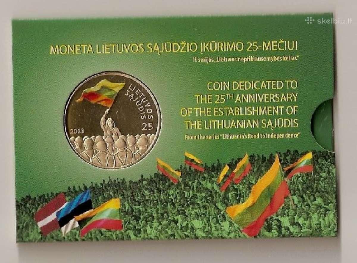 2013 25lt Lietuvos sąjūdžio įkūrimo 25-mečiui
