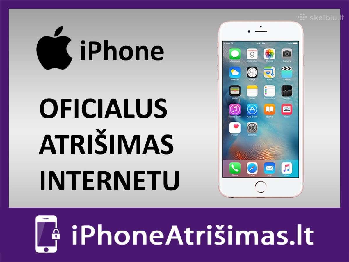 Apple iPhone Atrišimas internetu geriausia kaina
