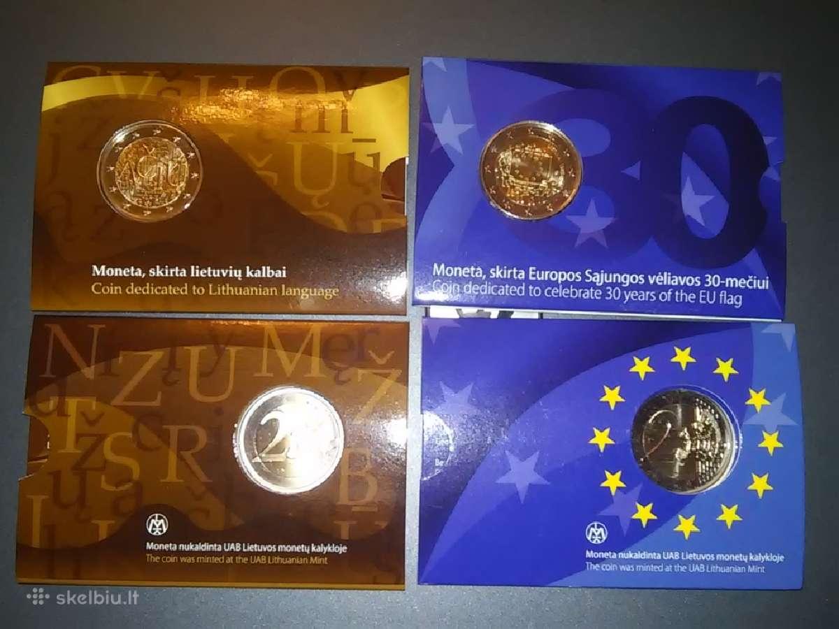 Ačiū lietuvių kalbai Bu, Es vėliavos 30m Bu, 2 eur