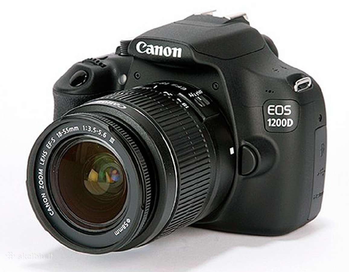 Canon fotoaparatas EOS 100d, 700d/750d, 80d