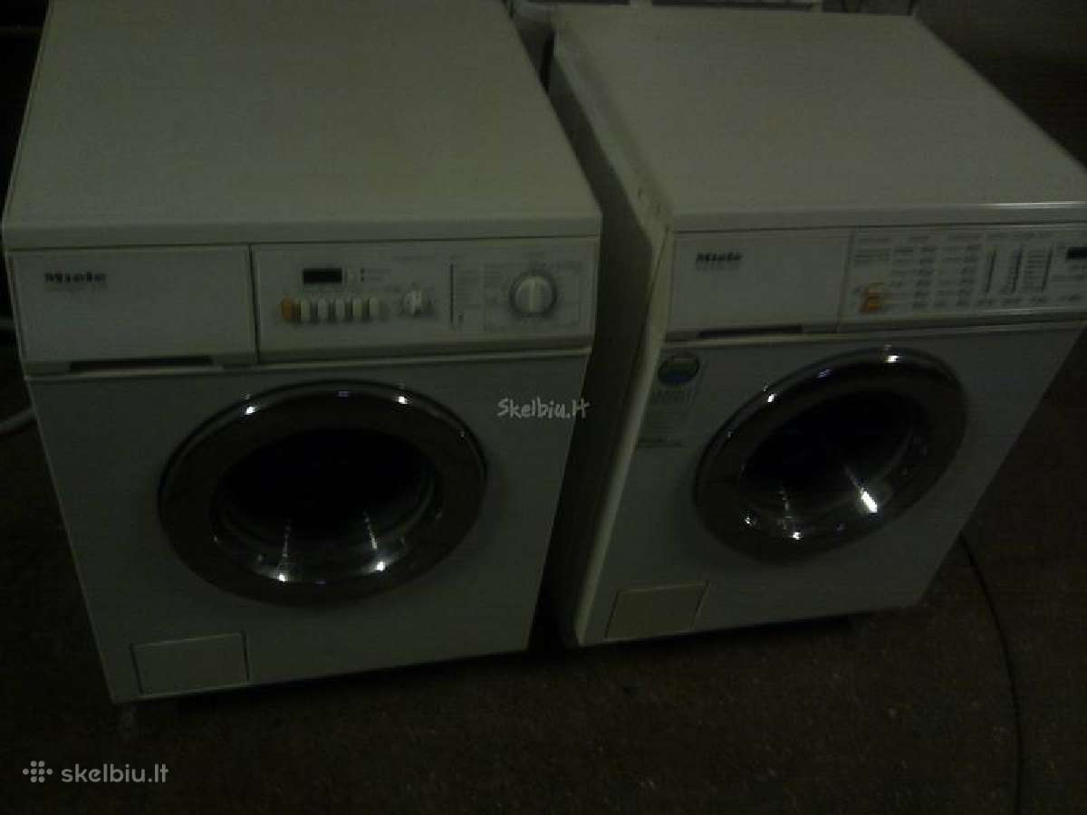 Surekame skalbimo masinos miele