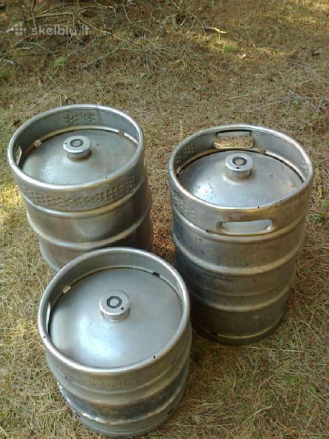 Alaus statinės ir alaus išpilstymo įranga