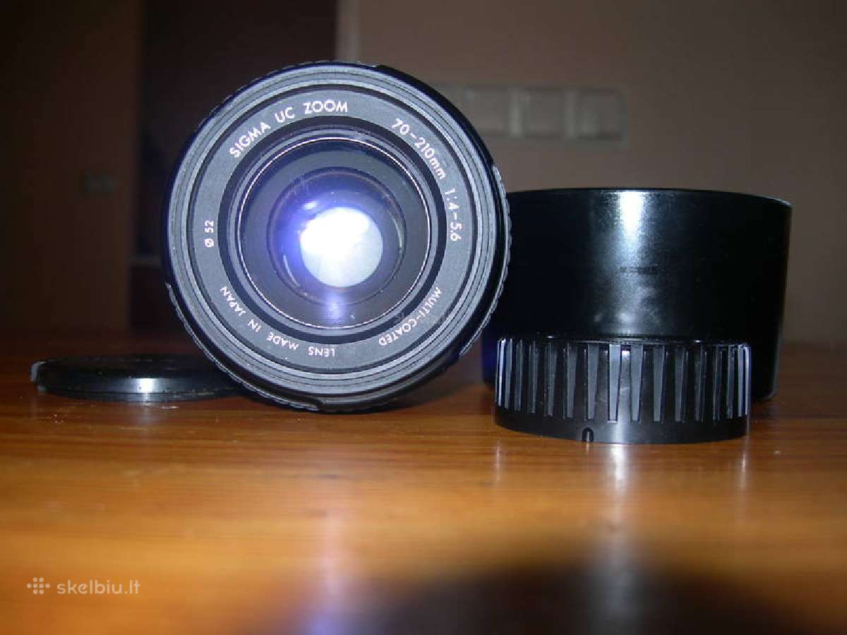 Nikon af ir mf objektyvai