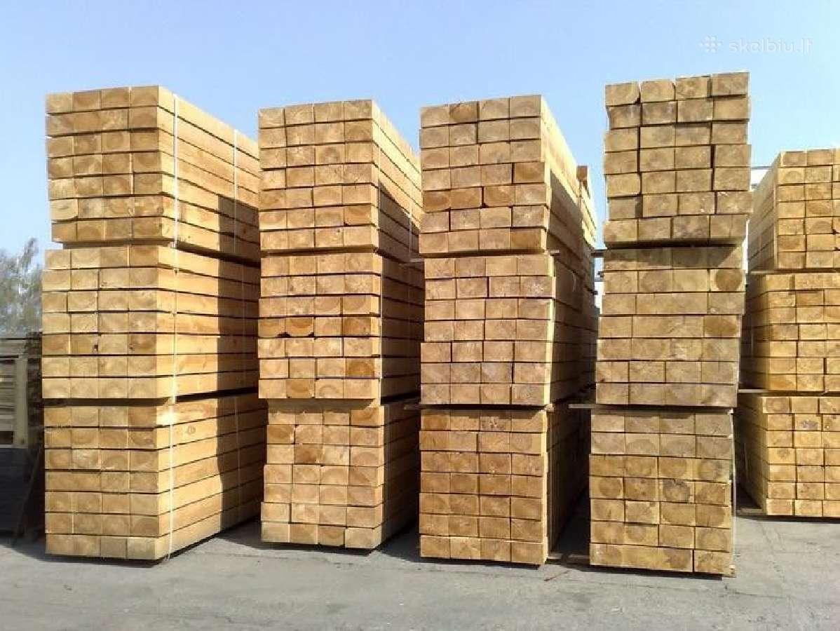 Statybinė mediena Vilnius - nuo 130 Eur