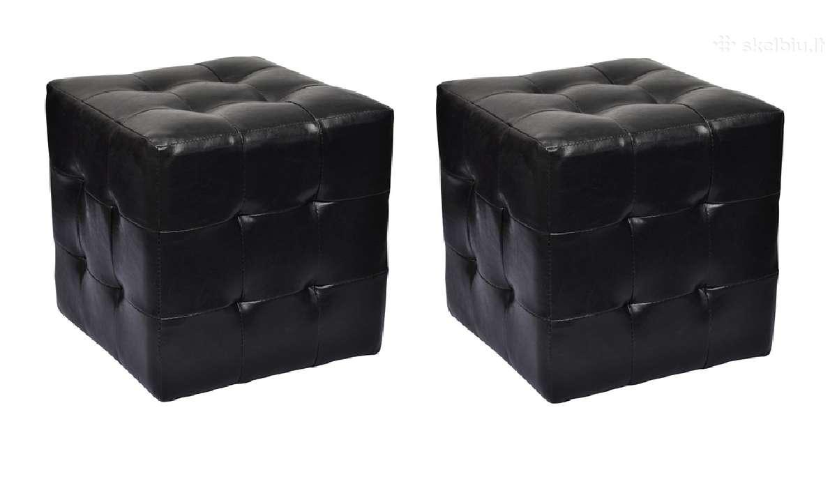 2 Kubo Formos Kėdutės - vidaxl