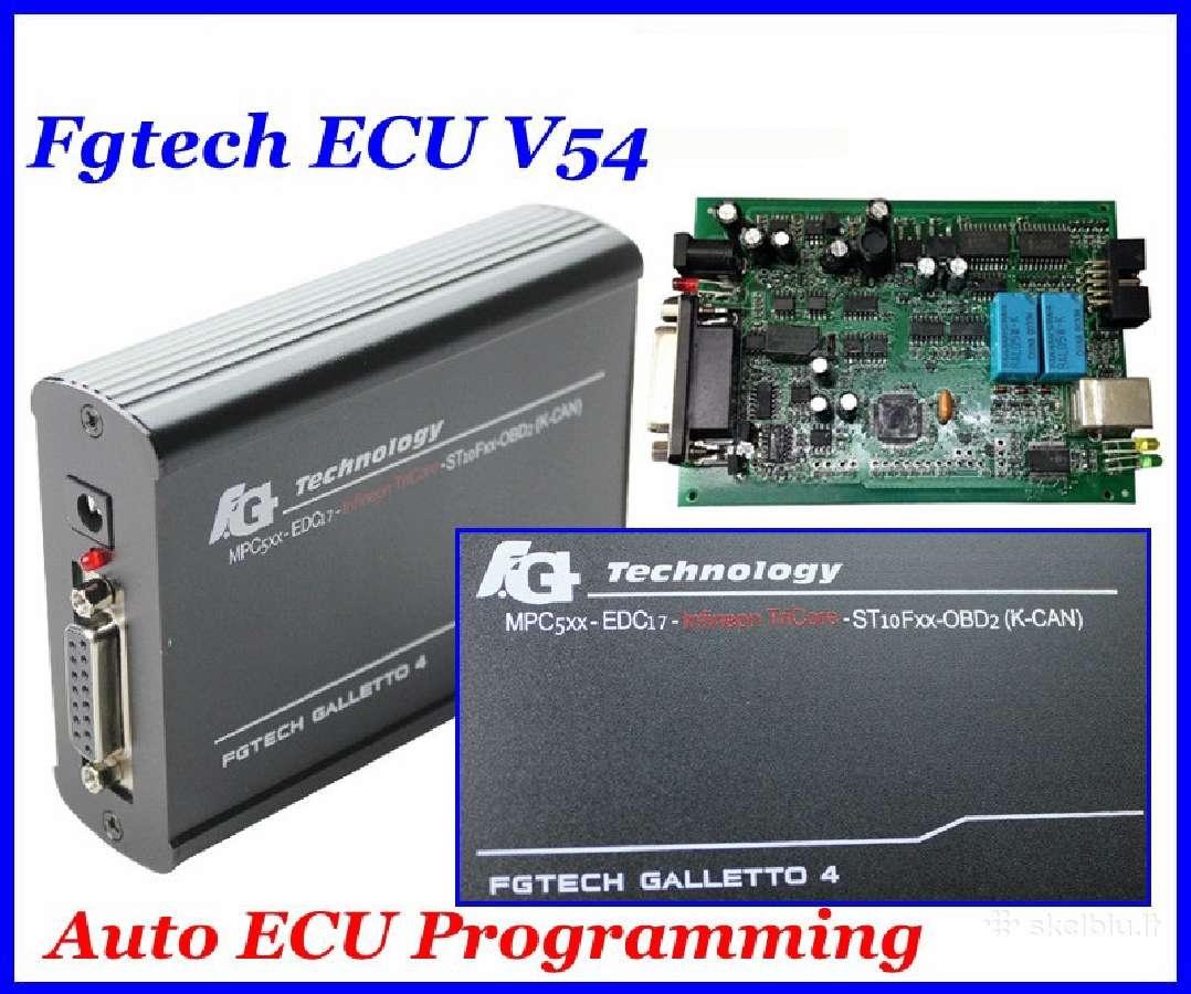 Galletto V54 Master Ecu Programatorius