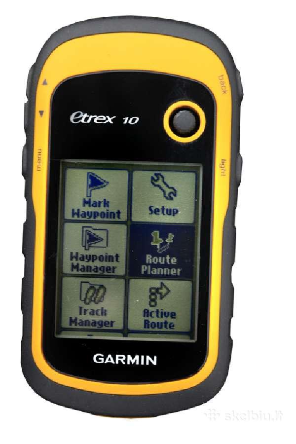 Garmin etrex 10 GPS ploto matuoklis, navigatorius