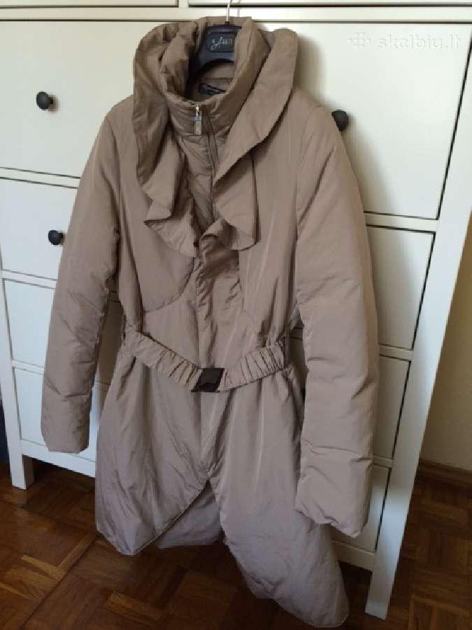 Moteriškas pūkinis paltas