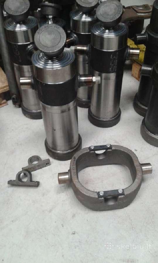 Teleskopiniai cilindrai.hidraulika.priekabų dalys