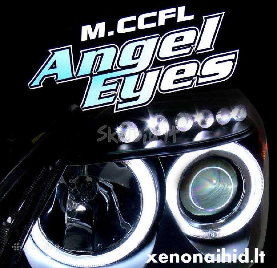 "Akcijos! Bmw ""Angel eyes"", ""Demon eyes"" ccfl, led"