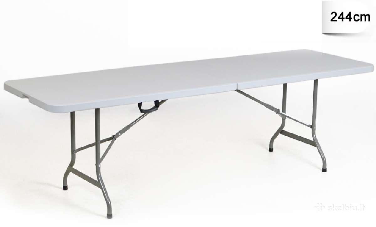 Sulankstomas prekybinis stalas stalai kedes