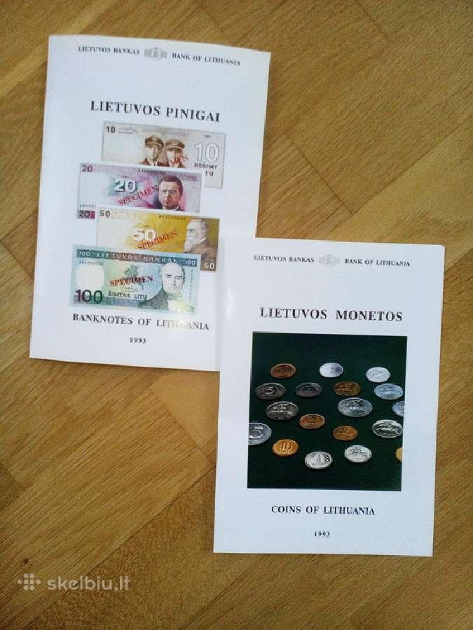 1991-tujų monetų/banknotų lankstinukai