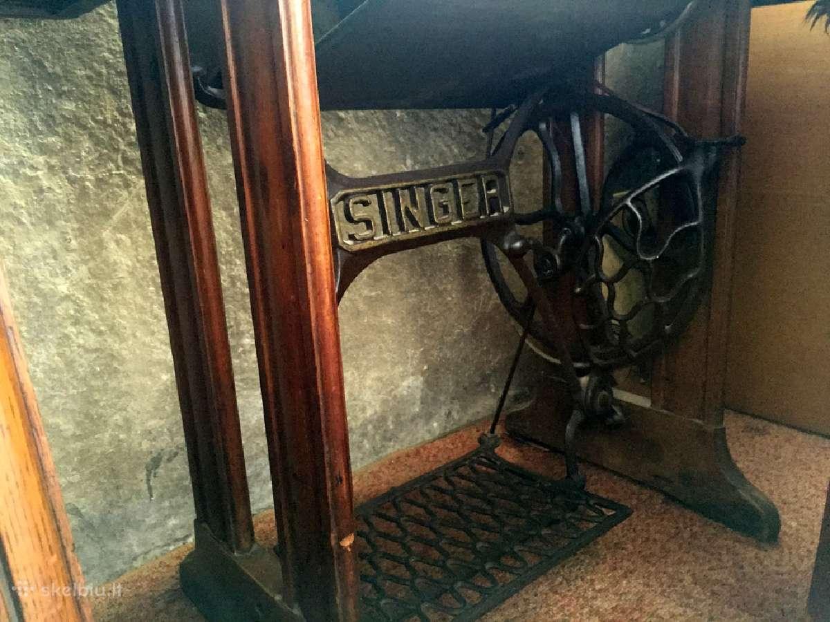 Parduodu senovinę Singer siuvimo mašiną