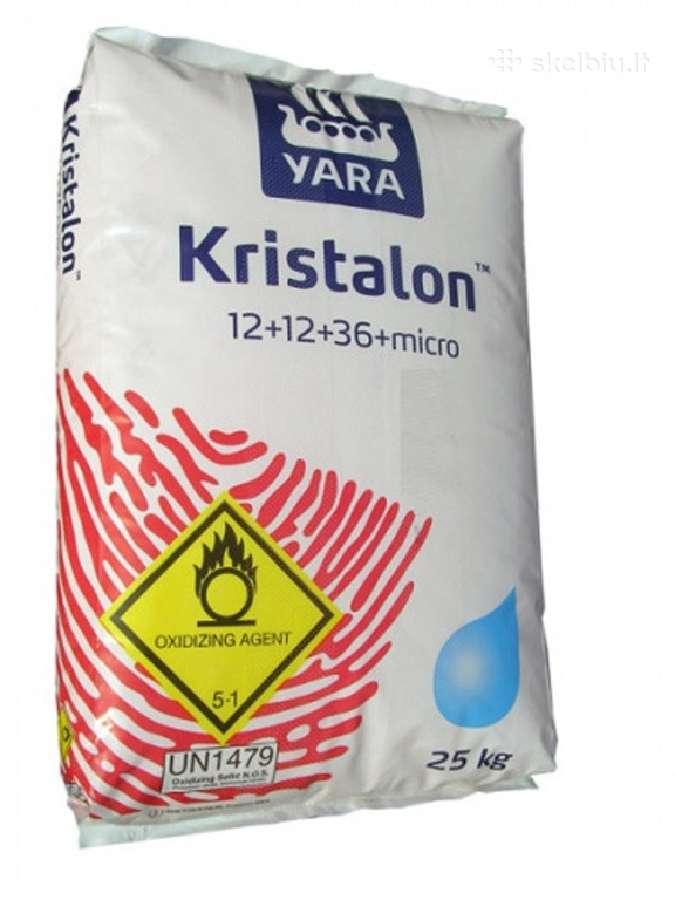 Trąšos Yara Mila Kristalon raudonas 12-12-36+micro