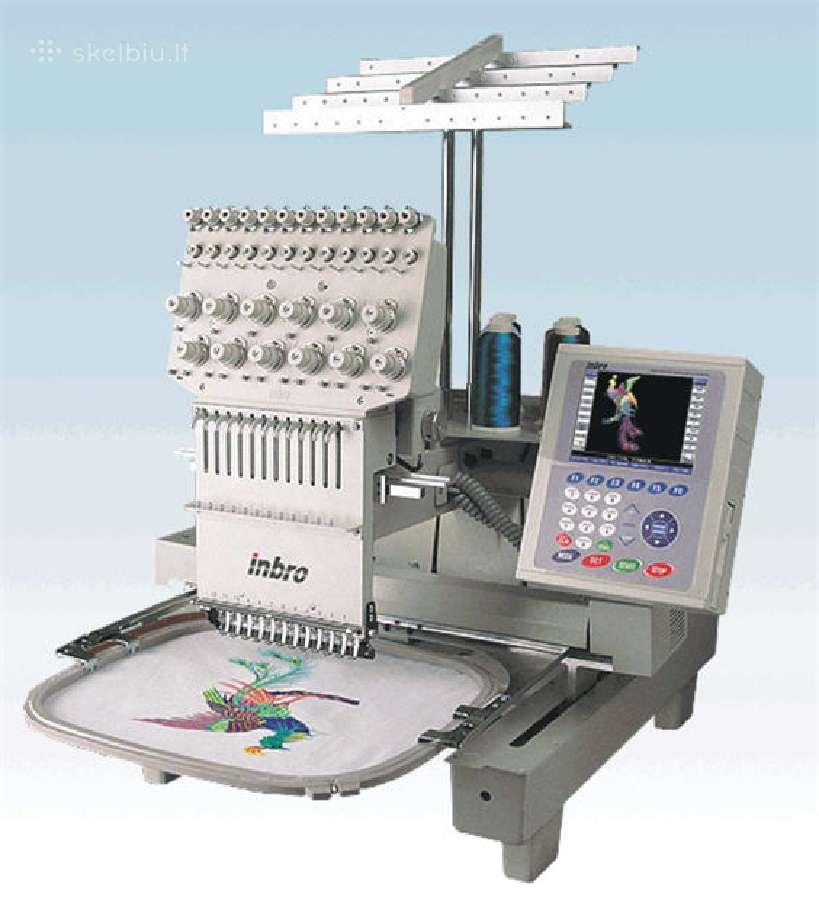 Parduodu naują siuvinėjimo mašiną