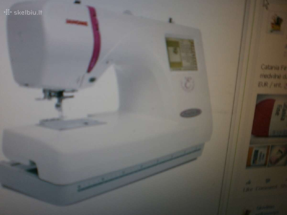 Siuvinėjimo mašina Janome Mc350e 680eur