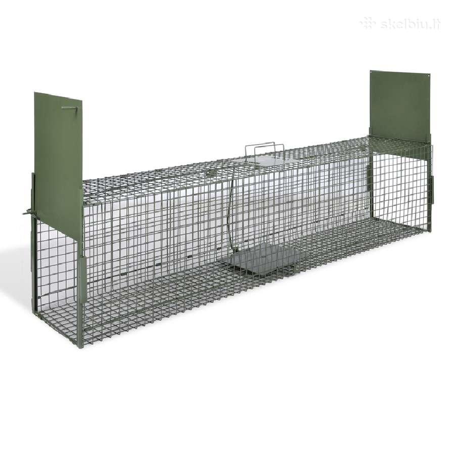 Dviejų Durų Gaudyklė, 150 x 30 x 30 cm - vidaxl
