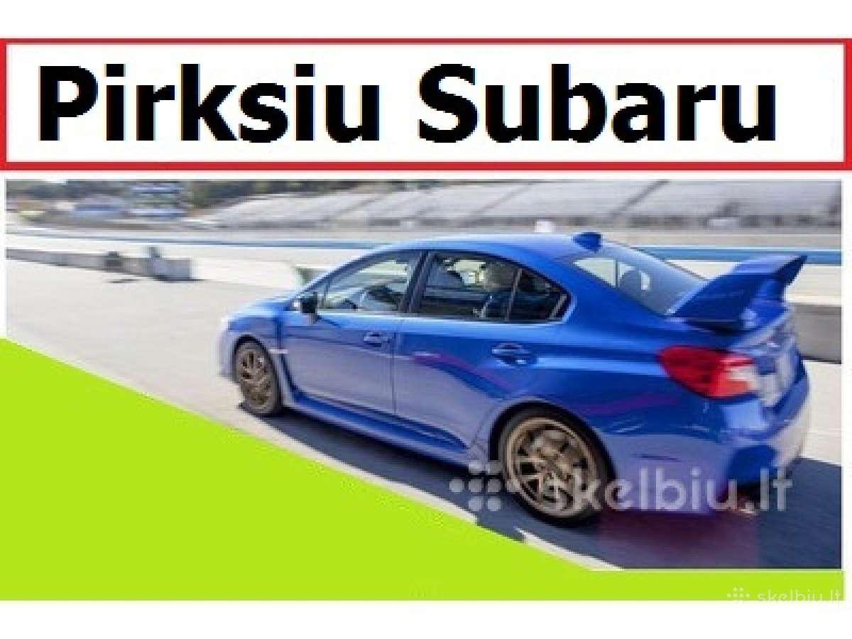 Pirksiu Subaru