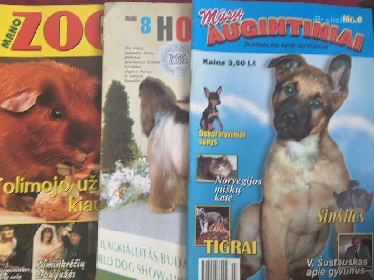 Daug žurnalų apie šunis ir kitus gyvūnus