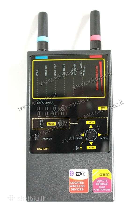 Visų Ryšių Blakių Profesionalus Detektorius 1207i