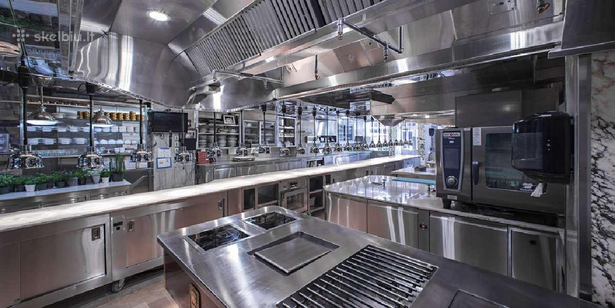Nauja, naudota įranga, virtuvės įrengimas