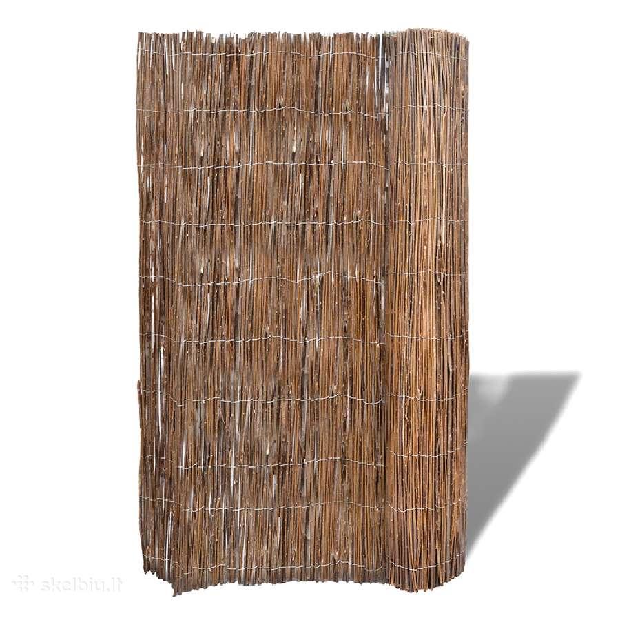 Karklinių Vytelių Tvora Sodui 300 x 150 cm, vidaxl