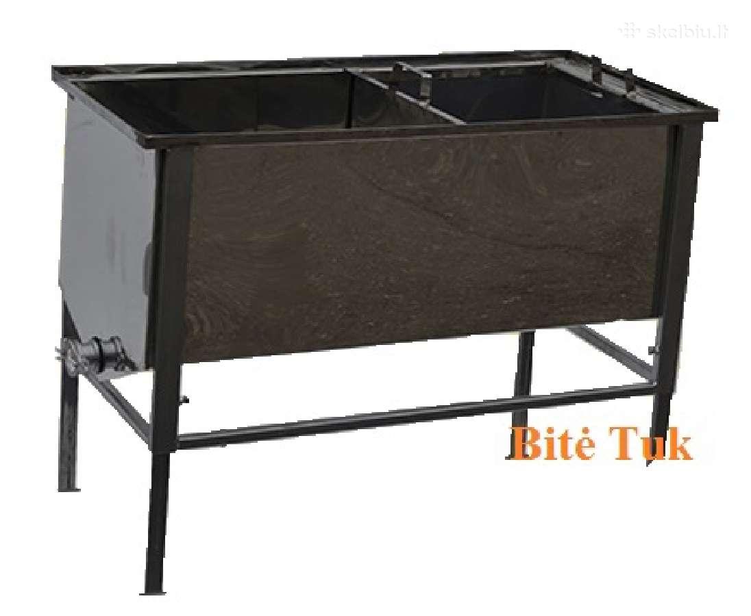 Nerudijančio plieno atakiavimo stalas ,1-1,5 metro