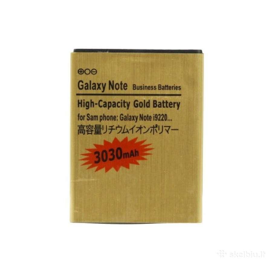 Galaxy note padidintos talpos baterija